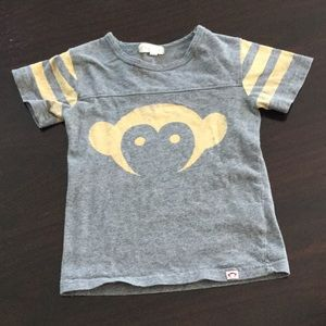 Appaman monkey graphic tee shirt toddler boys 2t